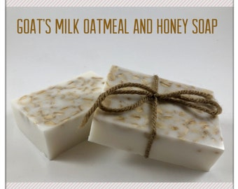 Goat's Milk Oatmeal and Honey Soap
