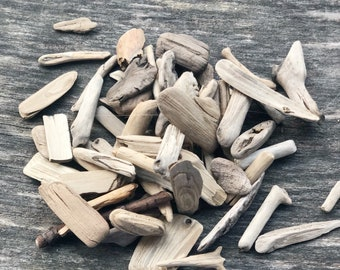 Mini Size  Driftwood Pieces For Natural Crafts Drift Wood Set Tiny Driftwood Micro Driftwood Pieces For Wreaths Small Driftwood Beach