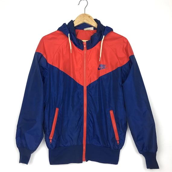 Orange Veste Nike Nylon Etsy Vintage S Tag 7080 Windrunner Rare tx1HTq8wtn