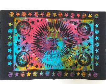 Tapestry Wall Hanging Decor Table Cloth Picnic Blanket Meditation Poster Meditation Mat Yoga Mat Blanket