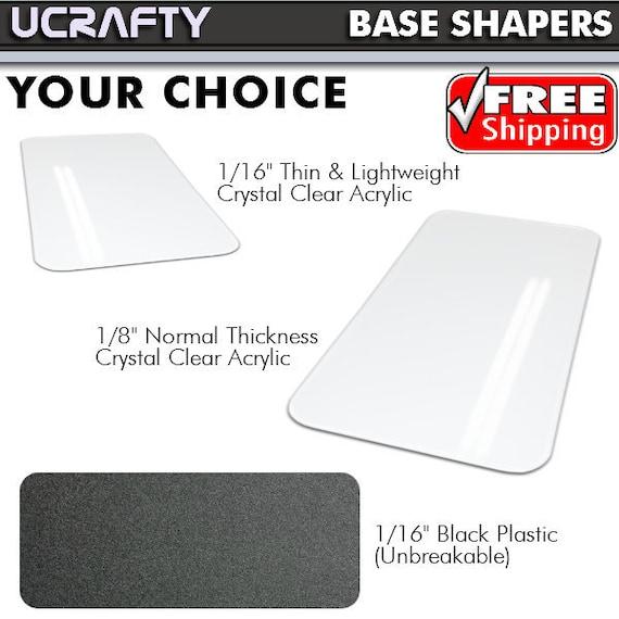 Hardy Pm Bottom Clear Base CarrierPurse Or Plastic Goyard Handbag InsertPlexiglas Tote Black For Bag Shaper Pet Sac Acrylic Plexiglass 3j5AR4L