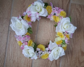 Assorted Spring Floral Wreath