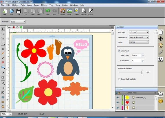 Vinyl Cutting Plotter Software For Windows And Mac Supports Etsy