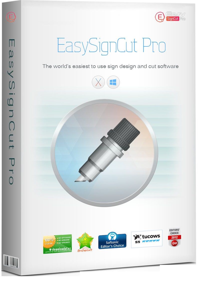 Vinyl Cutter Software >> Easysigncut Pro Vinyl Cutter Software With Contour Cutting Capability