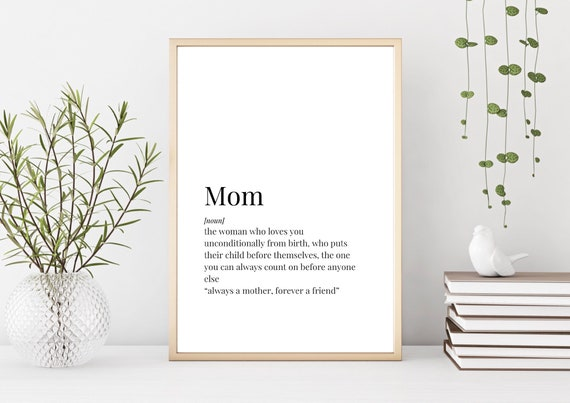 Prints Mom Definition