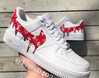faf4c42aaada Custom Air Force 1s LV Supreme
