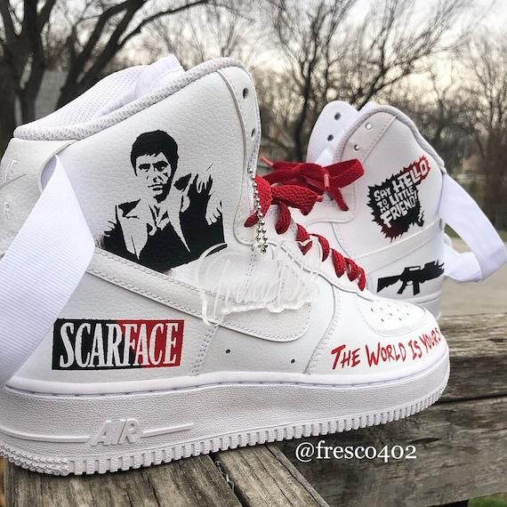 scarface nike sneakers