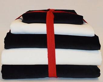DIY Package Velvet Black and white