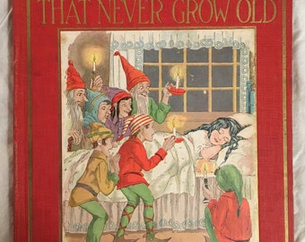 1927 - Fairy Tales That Never Grow Old - Star Edition  Edited by Watty Piper  Platt & Munk Co New York