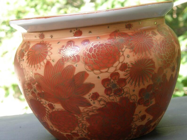 Imari Shuho Planter vase cache
