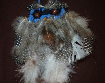 Small Owl Dreamcatcher made in the USA 5x7