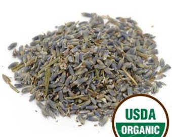 Lavender Flower, organic Extra French