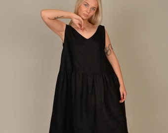 ruffle layered pinafore indie XS-S romper,jumper,summer mini dress,High Waisted Suspenders CUTE 90s VTG black overall dress criss cross