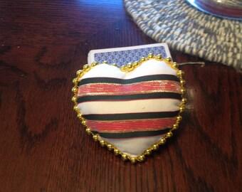 Heart Shaped Fabric Heart