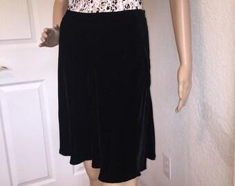 b1b26bdc9a Ann Taylor Vintage Velvet Skirt