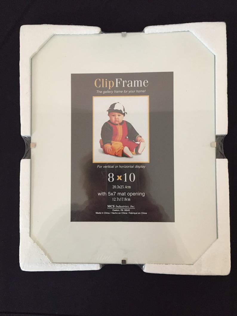 344670f95d97 Clip Frame 8 x 10 Frameless Frame