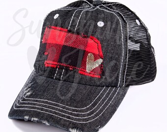 4b79866c Cute Nebraska Hat - Nebraska Cap - Ladies Nebraska Cap - Women's Nebraska  Cap