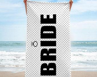 Bride Beach Towel   Bride Tribe Beach Towel   Squad Beach Towel * Can be customized!