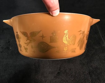Pyrex Early American 2.5 Quart Mixing Bowl