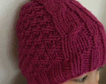 Knitted Girl's Winter Hat