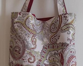 Bag of shopping, tote bag, reusable bag, fabric bag, double, spring bag, Eco-friendly