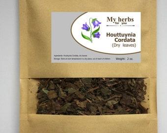 Houttuynia Cordata dry leaves