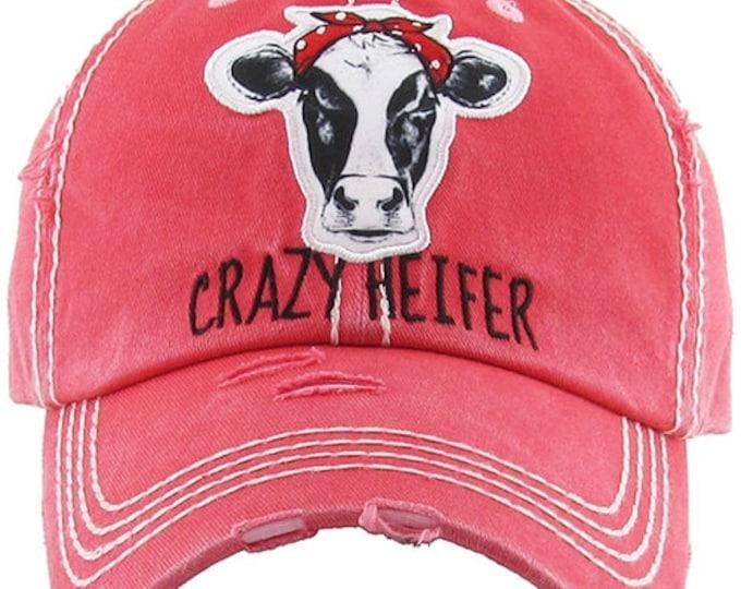 Crazy Heifer Hat