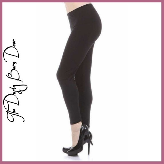 Style It up Black Leggings Curvy