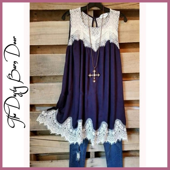 PREORDER. Lacy May Tunic