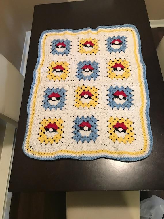 Handmade Crochet Pokemon Characters Blanket | Crochet geek ... | 760x570