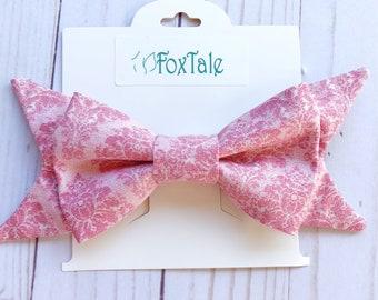 Pink hair bows, baby girl hair bows, bow ties, hair bows, big bows, big pink bows, baby shower gifts, gifts, teen hair bows, large bows
