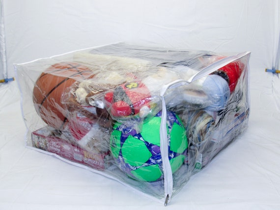 Arts for Blankets Crafts 9 x 11 x 5 Toys /& Much More! Clear 2.1 Gallon 8-Pack Heavy Duty Vinyl Zippered Closet Square Storage Bags