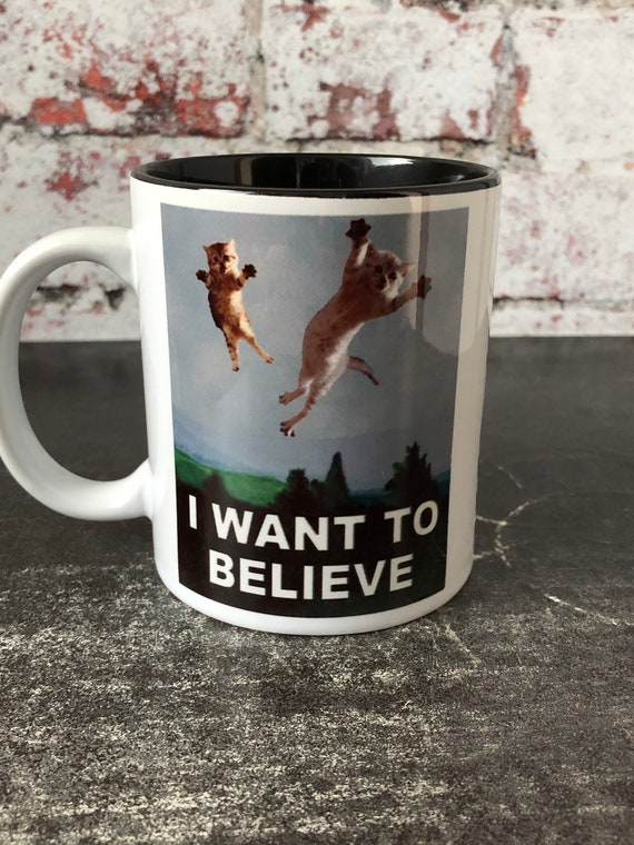 I Want to Believe 11 Oz Mugs Made Of Durable Ceramic X Files