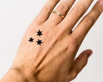 Stars tattoo | Etsy