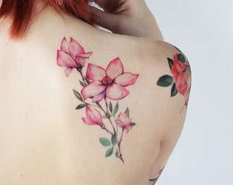 Magnolia Tattoo Etsy
