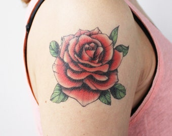 Rose Tattoo Etsy