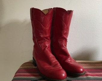 ef0fde499c9 Cowboy boots size 5 | Etsy