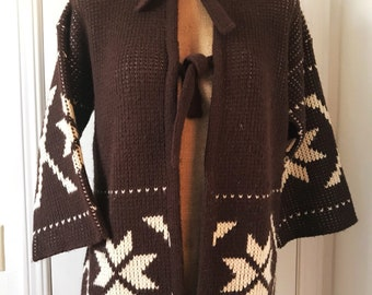 Vintage LeRoy Knitwear Cozy Cardigan