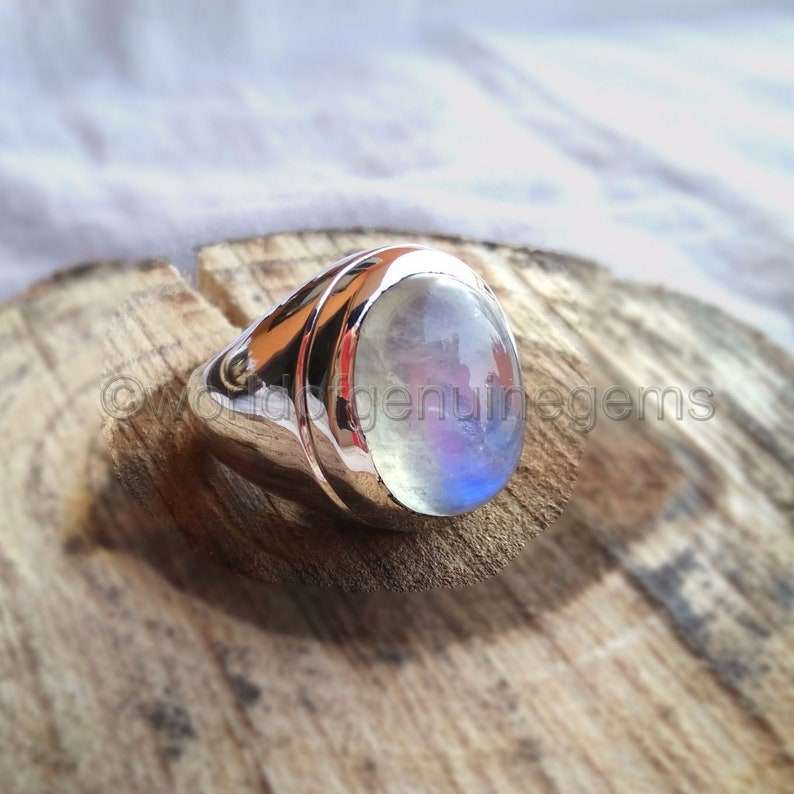 Choose Size! Faceted Gem Quality 3 Stone Ring Satyaloka Clear Azeztulite Ring Certificate of Authenticity Included .925 Sterling Silver