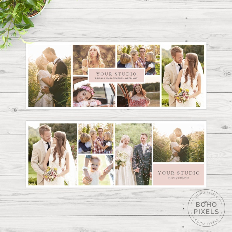 Facebook Cover Template Collage Facebook Cover Template for image 0