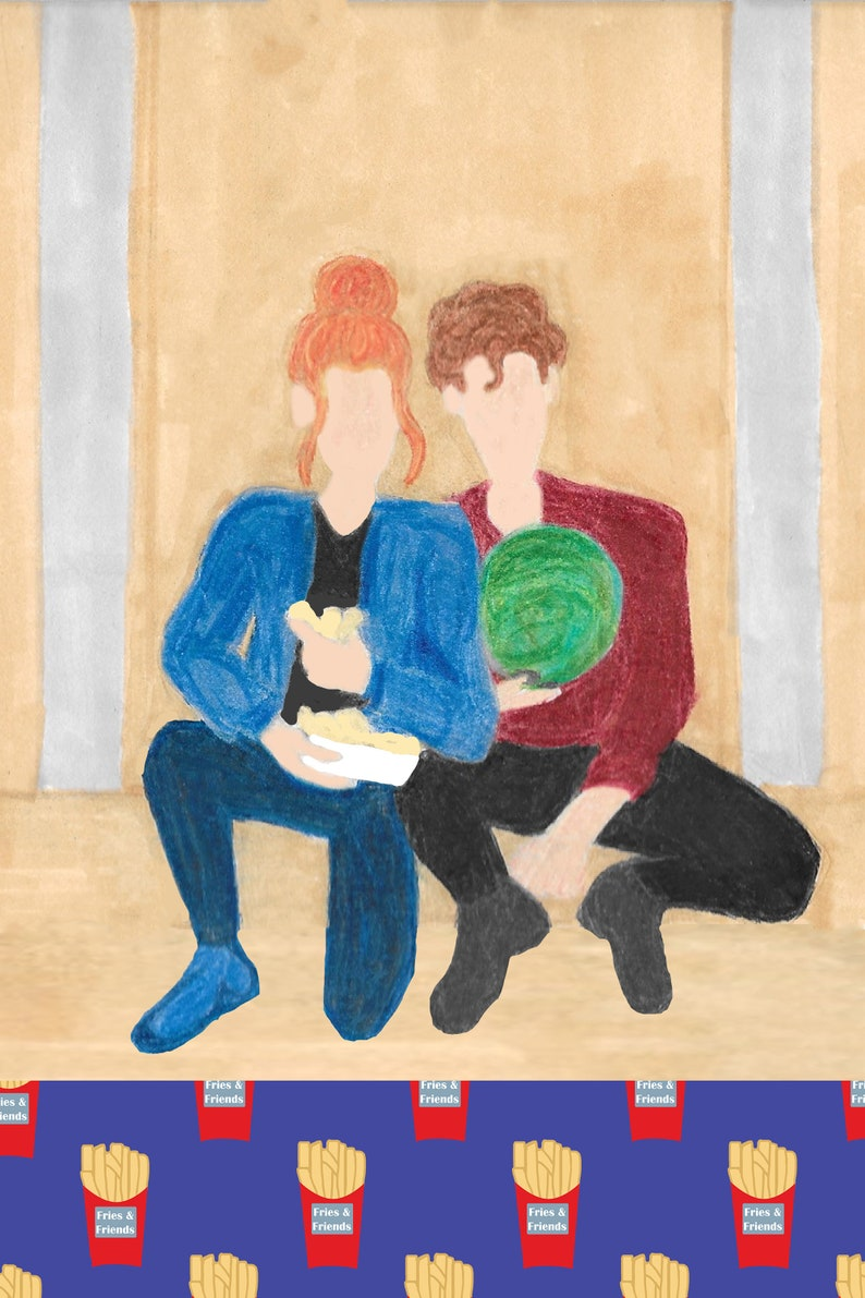 bowling date shawn mendes redhead couple goals fries and friends series inspired