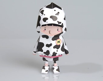 018 hipboy boogiehood paper toy template files etsy