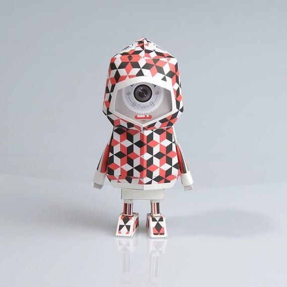013 La Sardina Paper Craft Origami Template Files Digital FIles PDF Boogiehood Toy