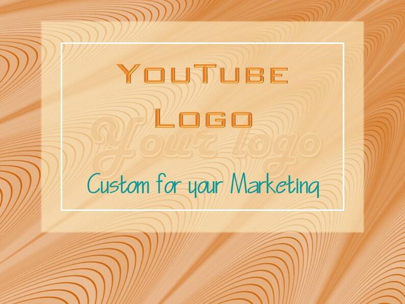 Youtube Logo, Custom Logo Design, Logo, Logo Design Custom, Logo Design,  Youtube Banner, Youtube, Custom Logo, Business Logo, Shop Logo