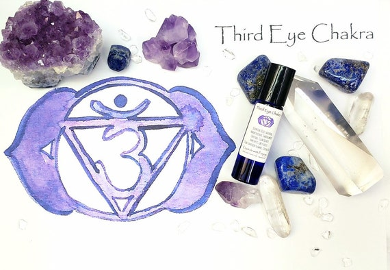 Third Eye Chakra Essential Oil