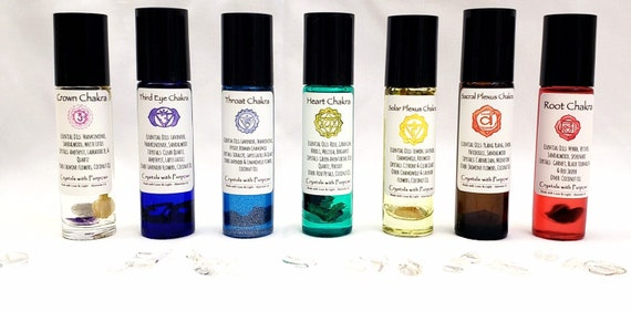 All Chakra Essential Oil Set