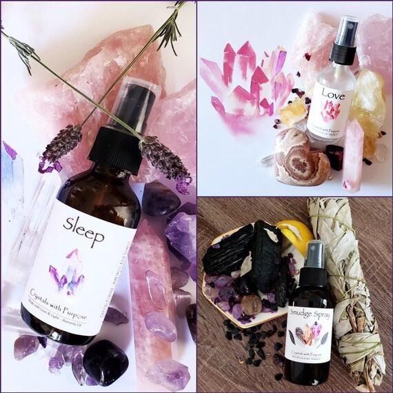The Essentials Smudge Kit (Smudge Spray, Love Spray, & Sleep Spray) 1 oz ea