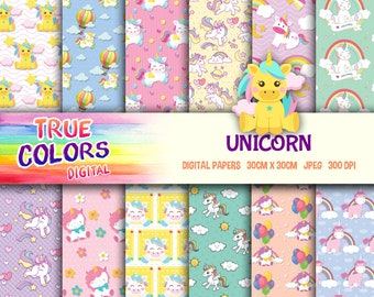 Unicorn - Digital Paper