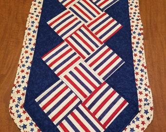 Stars & Stripes Table Runner