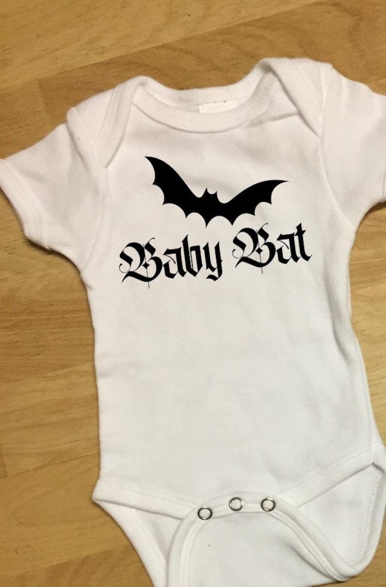 Baby Bat bodysuit and bat leg warmers